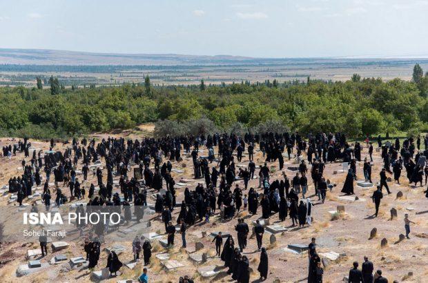 عزاداری روز عاشورا در روستای «چهرگان»