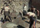اعزام ۱۰ گروه جهادی به روستای آلمالو عجبشیر