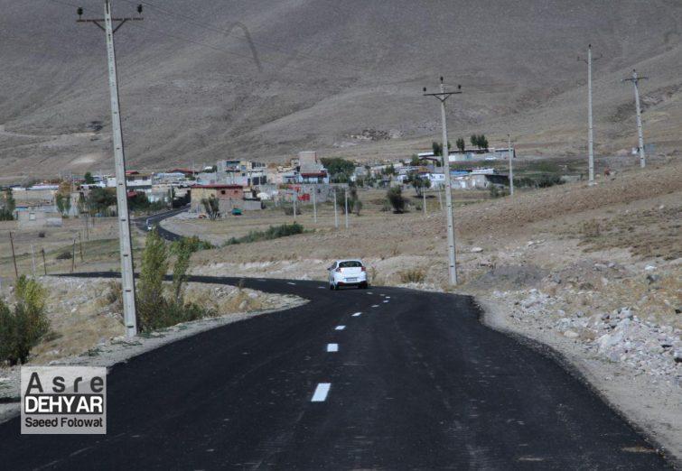 آیین افتتاح راه روستای دیبکلو
