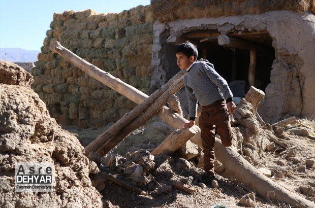 روستای زلزله زده تیر شاب سراب