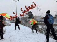 تعطیل شدن مدارس آذربایجان شرقی به دنبال بارش برف